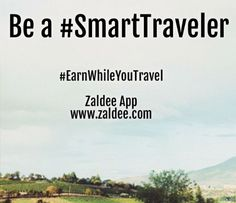 Be a #SmartTraveler Use #ZaldeeApp (www.zaldee.com) and earn while you travel.  It takes less than minute to list your journey. Try it for free. It's quick & easy ❤️ Download ZALDEE app.  Zaldee® connects travelers and senders  Traveler - earn while you travel® by utilizing excess baggage space available with you while traveling anywhere across countries, states or cities. ✈️ #ZALDEE #EarnWhileYouTravel #ZaldeeApp #ShipOnDemand #package #luggage #baggage #journey #courier #ExcessBaggage