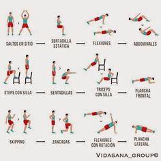 rutinas de gimnasio acondicionamiento fisico