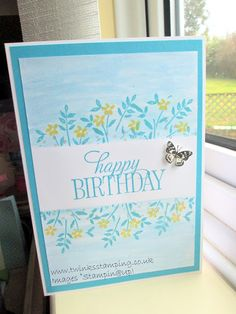 Twinks Stamping   Stampin' Up! Demonstrator: Birthday wishes......