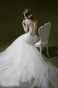 Backless Wedding Dress Lookbook