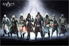 The Trends International Assassins Creed Banner Poster features the whole Assassin's Cred crew. This officially-licensed Assassin's Creed poster. The Assassin, Assassin's Creed Desmond, Graphic Prints, Poster Prints, Posters, Pro Art, Art Wall Kids, Wall Art, Color