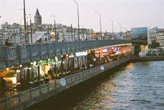 Galata Bridge, Istanbul, Turkey by Christophe Cario