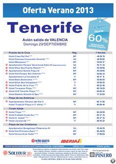 TENERIFE (Vuelo Adicional), hasta 60% en hoteles, salida 29 Septiembre desde Valencia - http://zocotours.com/tenerife-vuelo-adicional-hasta-60-en-hoteles-salida-29-septiembre-desde-valencia/