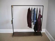 Hometalk :: How To Build A Garment Rack