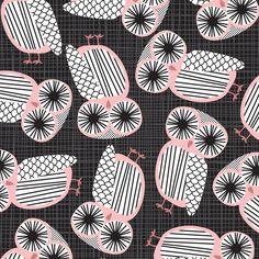 owl pattern <3 Eine Kleine Design Studio