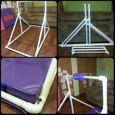 DIY Gymnastics Kip Bar More Diy Gymnastics Bar, Gymnastics Room, Gymnastics Videos, Gymnastics
