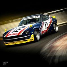 Racing Car Design, Datsun 240z, Tuner Cars, Car Tuning, Car Painting, Car Wrap, Kustom, Custom Cars, Race Cars