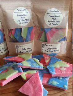 Jellybeans Soy Wax Brittle Min 40g by FaeryLightsuk on Etsy