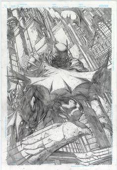 David Finch - Pencils for Batman #700 Cover