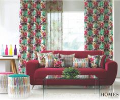 be28d77257 Mix and match the tropical prints to creat your monsoon vibe. Berger Paints  India