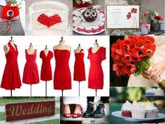 Winter Wedding Color Schemes — Wedding Ideas, Wedding Trends, and Wedding Galleries Wedding Trends, Trendy Wedding, Wedding Day, Wedding Tips, Wedding Bells, Wedding Stuff, Dream Wedding, Vintage Color Schemes, Red Color Schemes