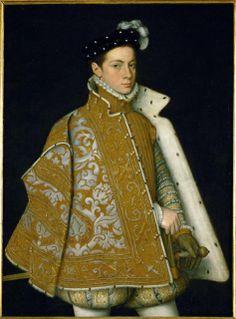 """Sofonisba Anguissola (1532-1825), """"Alessandro Farnese, Duke of Parma"""" c.1561"""