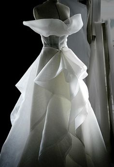 Beautiful. A look inside the atelier for Christian Dior haute couture f/w 2008