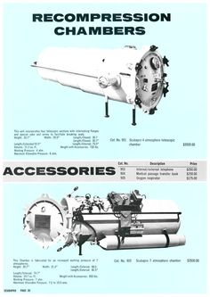 Scubapro Recompression Chamber Ad, Dive History