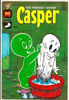 Vintage Comic - The Friendly Ghost, Casper Pencils: Warren. Vintage Comic Books, Vintage Cartoon, Vintage Comics, Cartoon Wallpaper Iphone, Cute Cartoon Wallpapers, Casper Ghost, Casper Cartoon, Ghost Comic, Ghost Tattoo