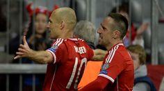 Franck Ribéry bedauert den Ausfall von Arjen Robben, seines Teamkollegen beim FC Bayern München.