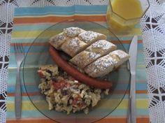 Śniadanie Mistrzów #12 – Kiełbasa, jajecznica, boczek