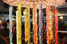 Cotton Hanging Lights For Wedding and House by LoveStringLights, $9.98