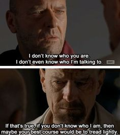 Top Breaking Bad Inspirational Image Quotes and Sayings Walter White,Jesse Pinkman Saul Goodman Breaking Bad Quotes, Breaking Bad 3, Tv Show Quotes, Movie Quotes, Life Quotes, Mejores Series Tv, Best Movie Lines, I Love Cinema, Anne With An E