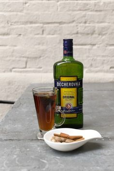 Mr. Kroll sometimes adds a digestif, such as Becherovka from the Czech Republic, which has...