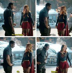#Supergirl - Kara & Hank #1x05