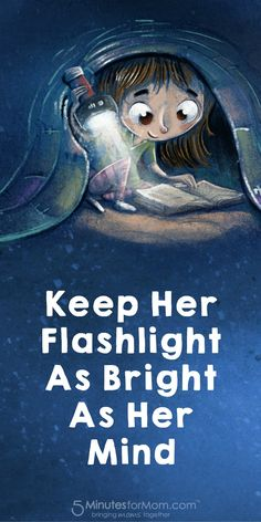Keep her flashlight as bright as her mind - There is a clever new way to make your flashlights stay bright longer. It is a reusable sleeve for disposable batteries. Sponsored.