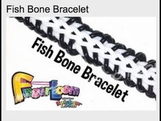Tutoriel Finger Loom de rainbow Loom : bracelet Fish Bone - YouTube