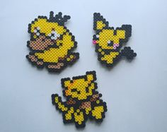 **1 Magnet Qualifies for a FILL THE BOX order** --------------------------------------------------  GOTTA CATCH EM ALL! These are handmade Pokemon Magnets based off the video games!  Product Details: These Pokemon magnets are completely handmade by me! Perfect for your refrigerator, dorm room, locker or any magnetic surface!  Pokemon has 1 or 2 magnets attached to the back! Magnets are approximately 3 x 3 inches.   Caring For Your Product: This item is completely handmade by me. I always…