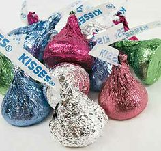 HERSHEY KISSES!!!!!!!!!!!!!!!!!!!  my Favorite.  I am a simple girl :)