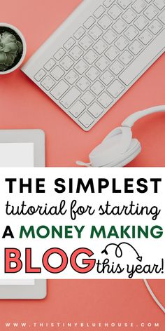 Are you looking to start a blog in 2020 and make money online? Here is the BEST beginners guide to starting a blog with step by step instructions that are easy to follow and a breeze to work through! #startablog #startablogforbeginners #startablogtomakemoney #startablogchecklist #startablogwordpress #startabloghow #startablogideas #startamomblog #startablogstepbystep #startablogforbeginnershow #startablogforbeginnerstips #startablogforbeginnersfree Make Blog, How To Start A Blog, Make Money Online, How To Make Money, Work From Home Opportunities, Be Your Own Boss, Online Work, Extra Money, Step By Step Instructions