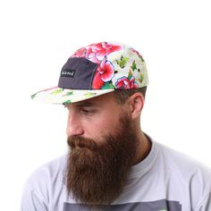 5 Panel Flora Hat by Beloved Shirts