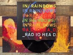 #nowspinning In Rainbows by #radiohead ! I think this is their best record by far. Everything they've done is great but this one has just a little bit of warmth for lack of a better word that is often missing from their music and I can't imagine taking out any one song in this set they feel perfectly sequenced. I also love the art book it comes in to me it's a perfect example of why #vinyl is a timeless format. What's your favorite Radiohead album and why?  #records #recordcovers…