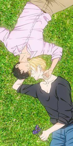 I Love Anime, Anime Guys, Banana Art, Fish Wallpaper, Fan Art, Image Manga, Fanarts Anime, Shounen Ai, Animes Wallpapers