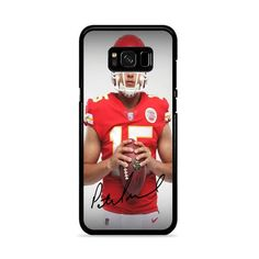 Patrick Mahomes Kansas City Chiefs Signature Samsung Galaxy S8 Plus Case – Miloscase Galaxy S8, Samsung Galaxy, Plastic Material, Kansas City Chiefs, How To Know, Perfect Fit, Phone Cases, Phone Case