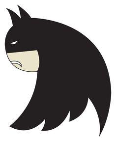 The new Twitter logo is just Batman sideways!