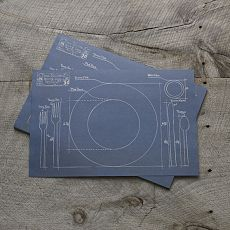 Laura seman laurabirddc on pinterest blueprint placemats know exactly where everything should go on your table with these blueprint paper placemats comes in a pack of 50 placemats malvernweather Gallery