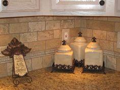 Travertine Tile Backsplash | Light Travertine Backsplash (134), Turkish Light Travertine, Dallas ...