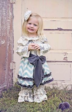 Fall+Chevron+Paris+Dress+  Pants+&+Headband+Available+Too  Now+In+Stock