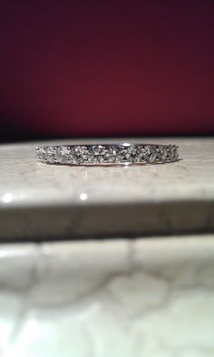 wedding band in 18k white gold | I Do Now I Don't