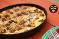 Paleo Breakfast Pizza minus the lamb please