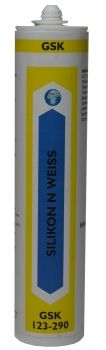 GSK 123-290 Silikon N weiß 310mlKlebstoffe, Schmieren, PTFE, Keramik, Silikon ,Öl, TrennmittelKlebstoffe, Aerosole, Reinigungsmittel, Dichtstoffe, Zubehör, GSK Chemie Adhesive, Cleaning Agent, Chemistry, Cleaning