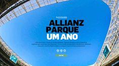Allianz Parque: Um ano