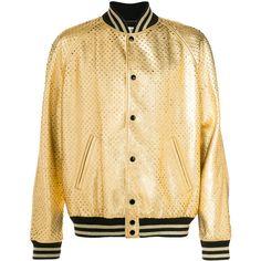 Baseball jacket yellow