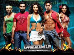 """Dhoom is an action heist film directed by Sanjay Gadhvi and produced by Aditya Chopra and Yash Chopra. It stars Abhishek Bachchan, Uday Chopra, Hrithik Roshan, Bipasha Basu and Aishwarya Rai in lead roles. The film was released on November 2006 Hindi Bollywood Movies, Tamil Movies, Bollywood Stars, Dhoom 2, Yash Raj Films, Download Free Movies Online, Hindi Movies Online, 2 Movie, Picture Movie"