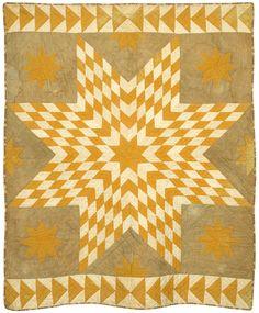 Star of Bethlehem  1858  New England Quilt Museum