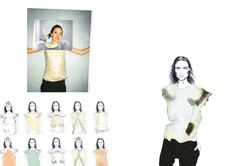 Fashion Portfolio - fashion design development; fashion illustration; design drawings; fashion sketchbook // Faye Van Andel