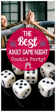 Adult Game Night Party Ideas-This fun Cootie Party is one of the best parties you can ever throw! Great for an adult game night or a family game night. night, Adult Game Night: Throw a Cootie Party Adult Game Night Party, Games For Ladies Night, Couples Game Night, Game Night Parties, Family Game Night, Party Games For Adults, Ladies Night Party, Family Fun Games, Couple Games