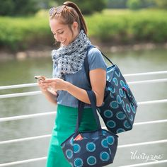 Go to work in style with the Avenue Scarf, Tall Organizing Tote and Lunch Break Thermal