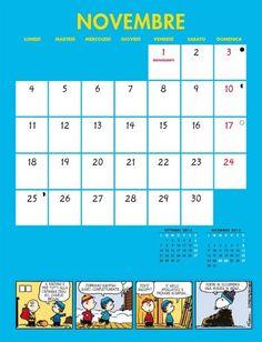 Calendario Pentaus - Novembre 2013