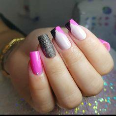 Blue Ombre Nails, Diva Nails, Instagram Nails, Cute Nail Designs, Manicure And Pedicure, Nail Arts, Spring Nails, Wedding Nails, Toe Nails